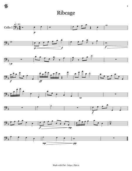 Ribcage - Cello