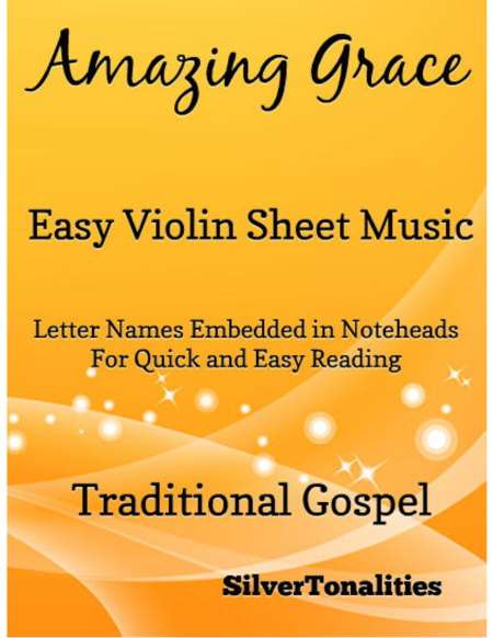 Amazing Grace Easy Violin Sheet Music