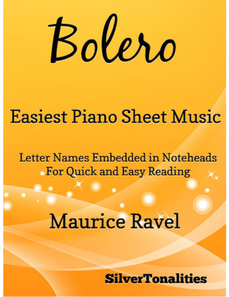 Bolero Easiest Piano Sheet Music