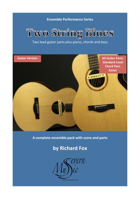Two String Blues - Guitar (Ensemble Performance Series)