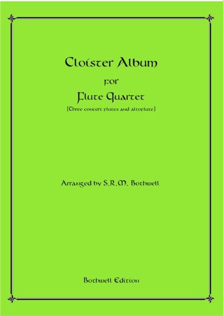 Cloister Album for Flute Quartet