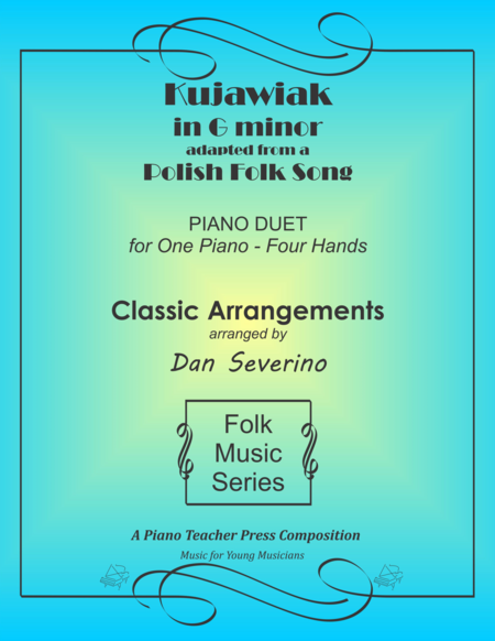 Kujawiak (piano duet)