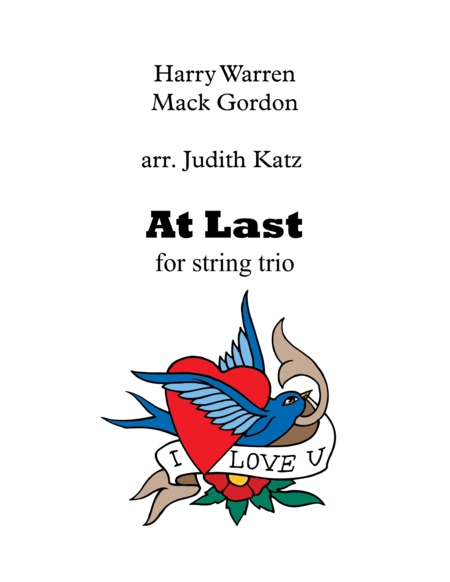 At Last - for string trio