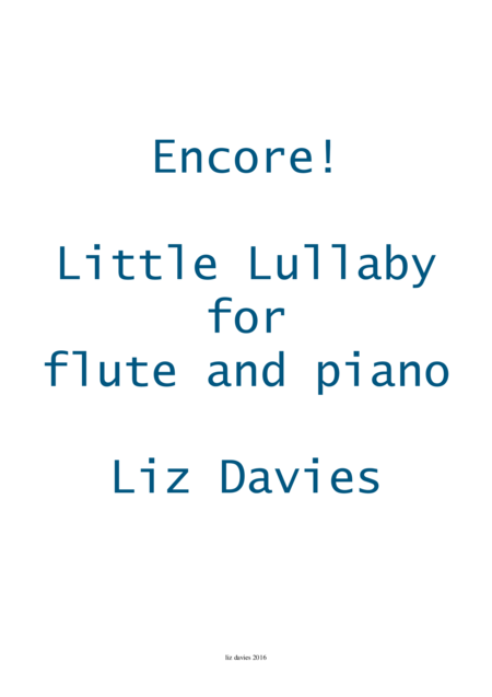 Little Lullaby