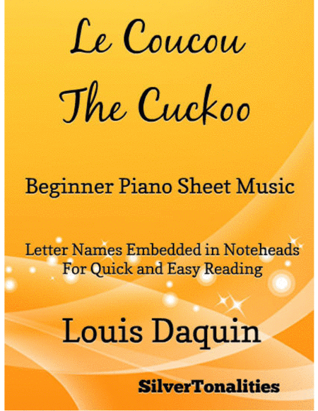 Le Coucou the Cuckoo Beginner Piano Sheet Music