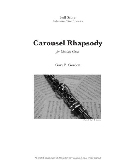 Carousel Rhapsody - for Clarinet Choir