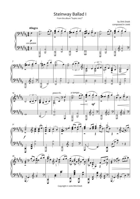 Steinway Ballad I