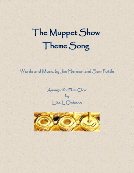 The Muppet Show Theme Song for Flute Choir
