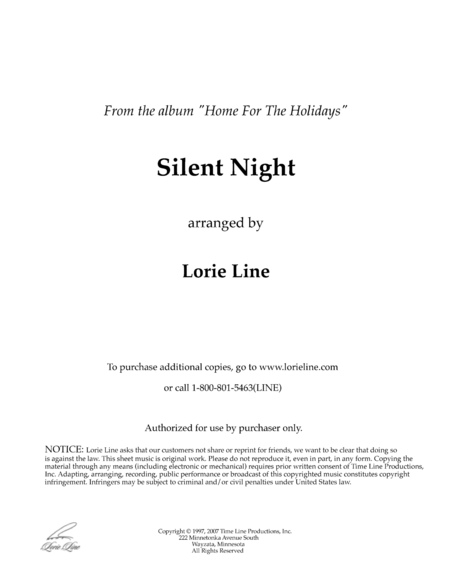 Silent Night (from Home For The Holidays)