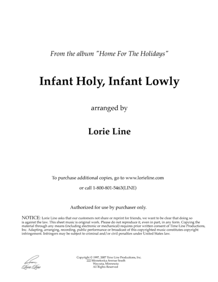 Infant Holy, Infant Lowly (from Home For The Holidays)