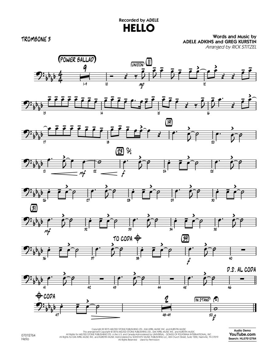 Hello - Trombone 3