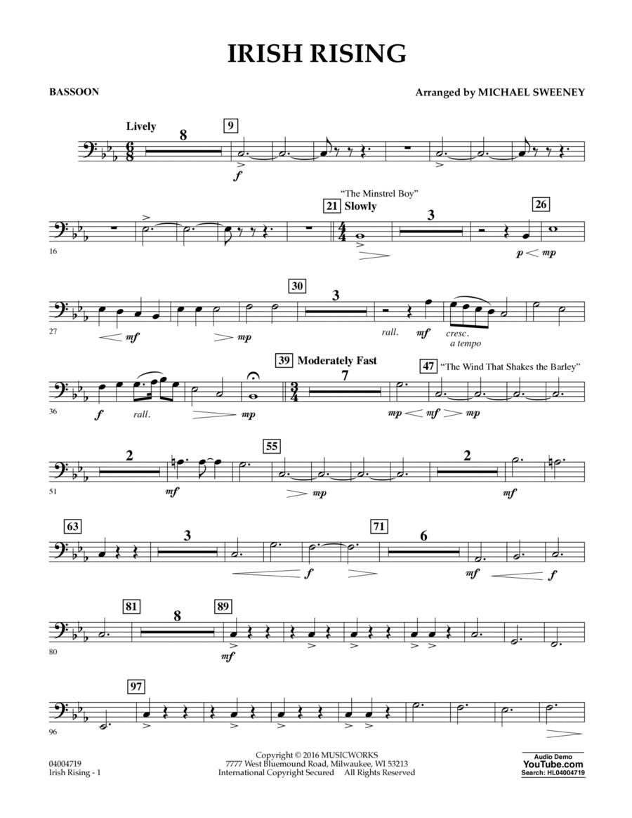 Irish Rising - Bassoon