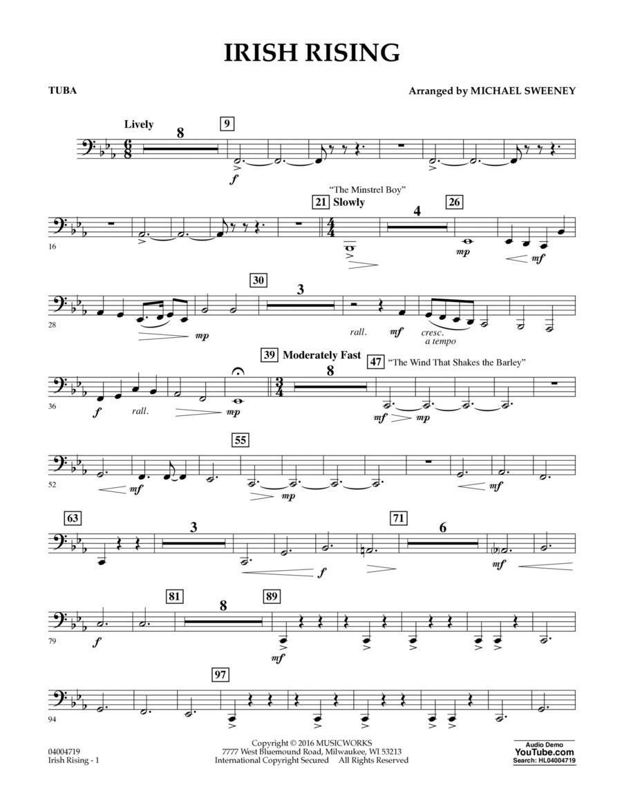 Irish Rising - Tuba