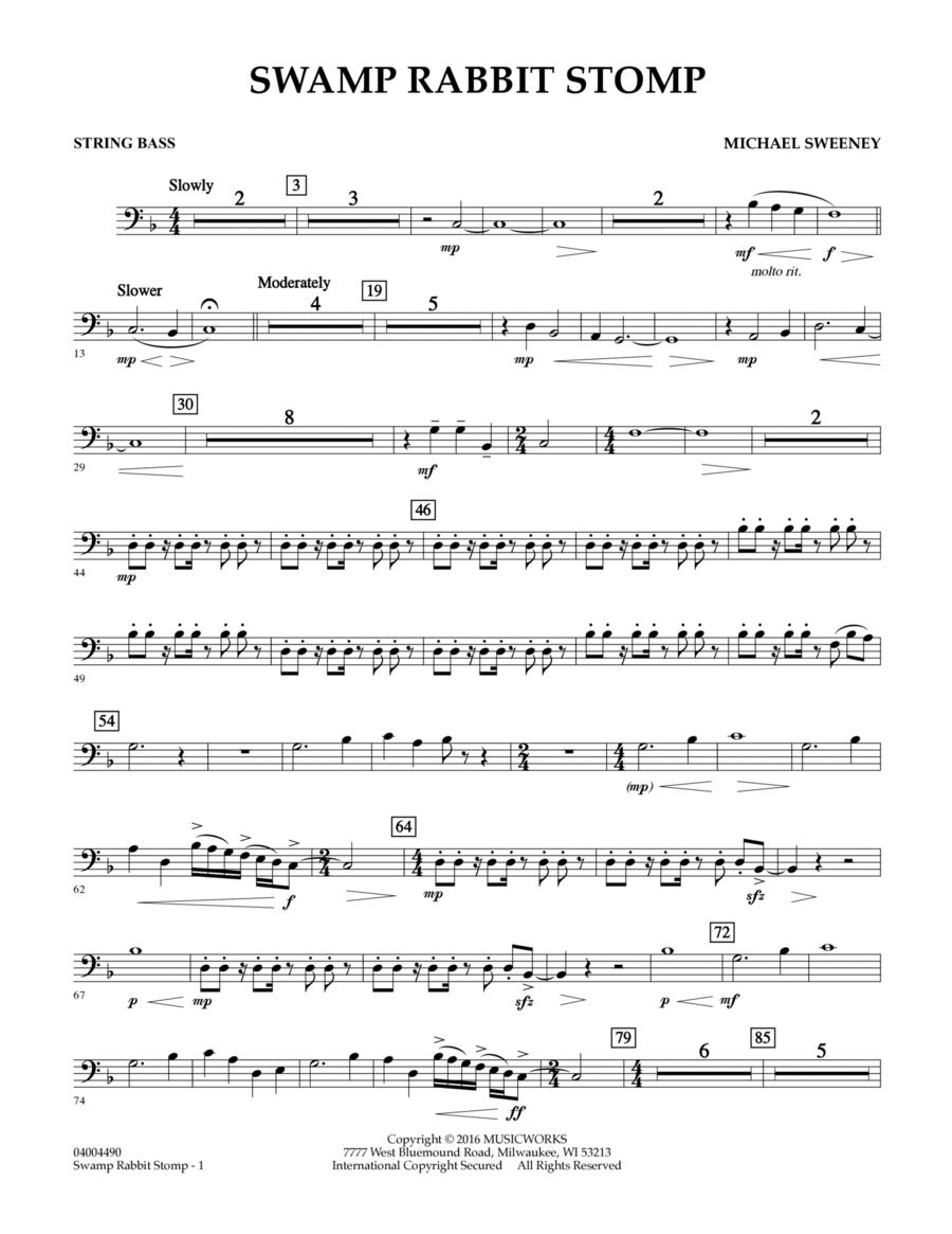 Swamp Rabbit Stomp - String Bass