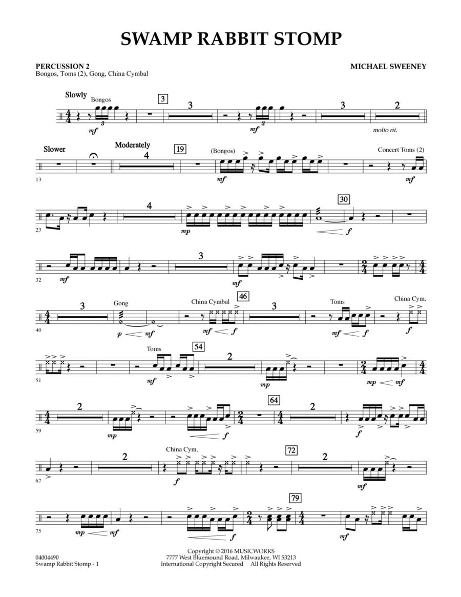 Swamp Rabbit Stomp - Percussion 2