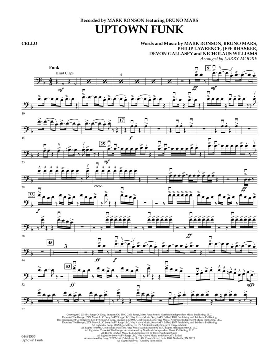 Uptown Funk - Cello