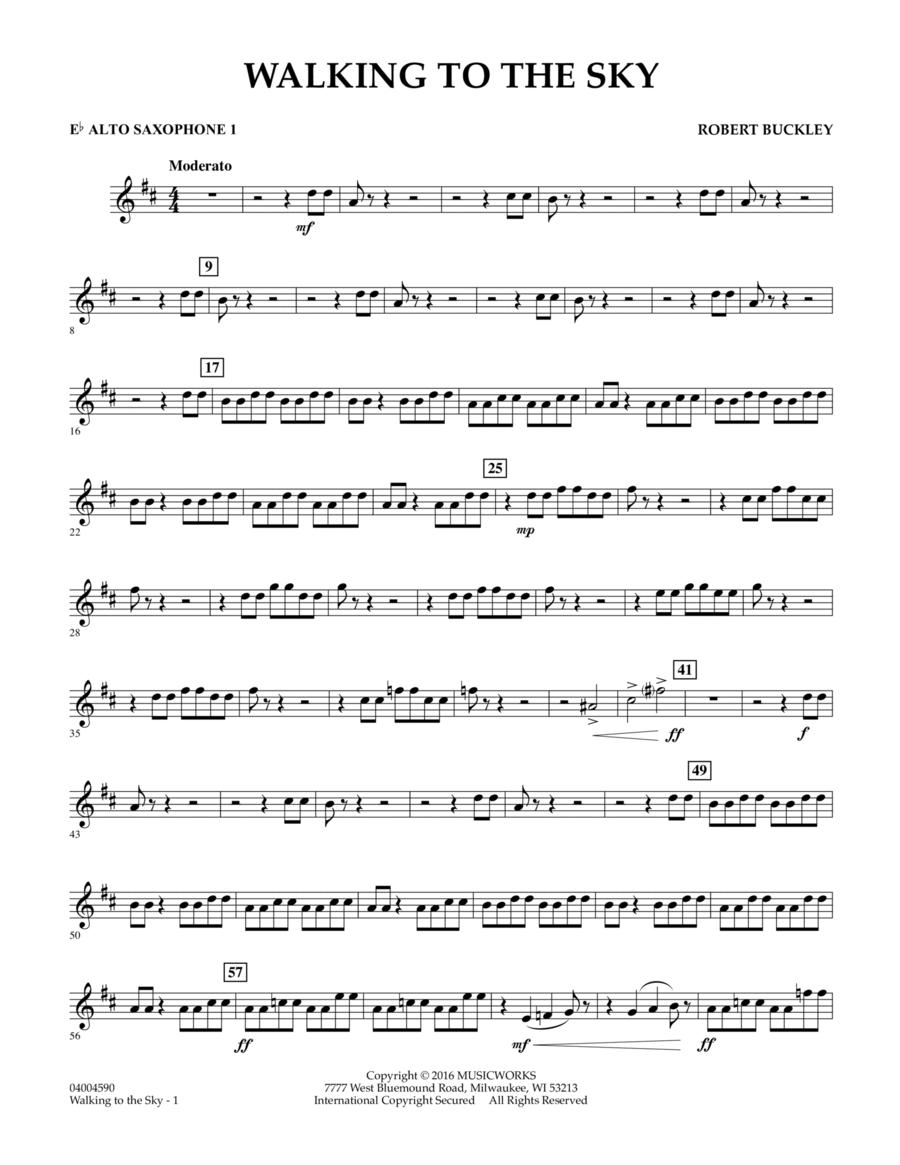 Walking to the Sky - Eb Alto Saxophone 1