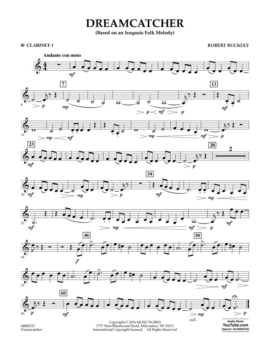 Dreamcatcher - Bb Clarinet 1