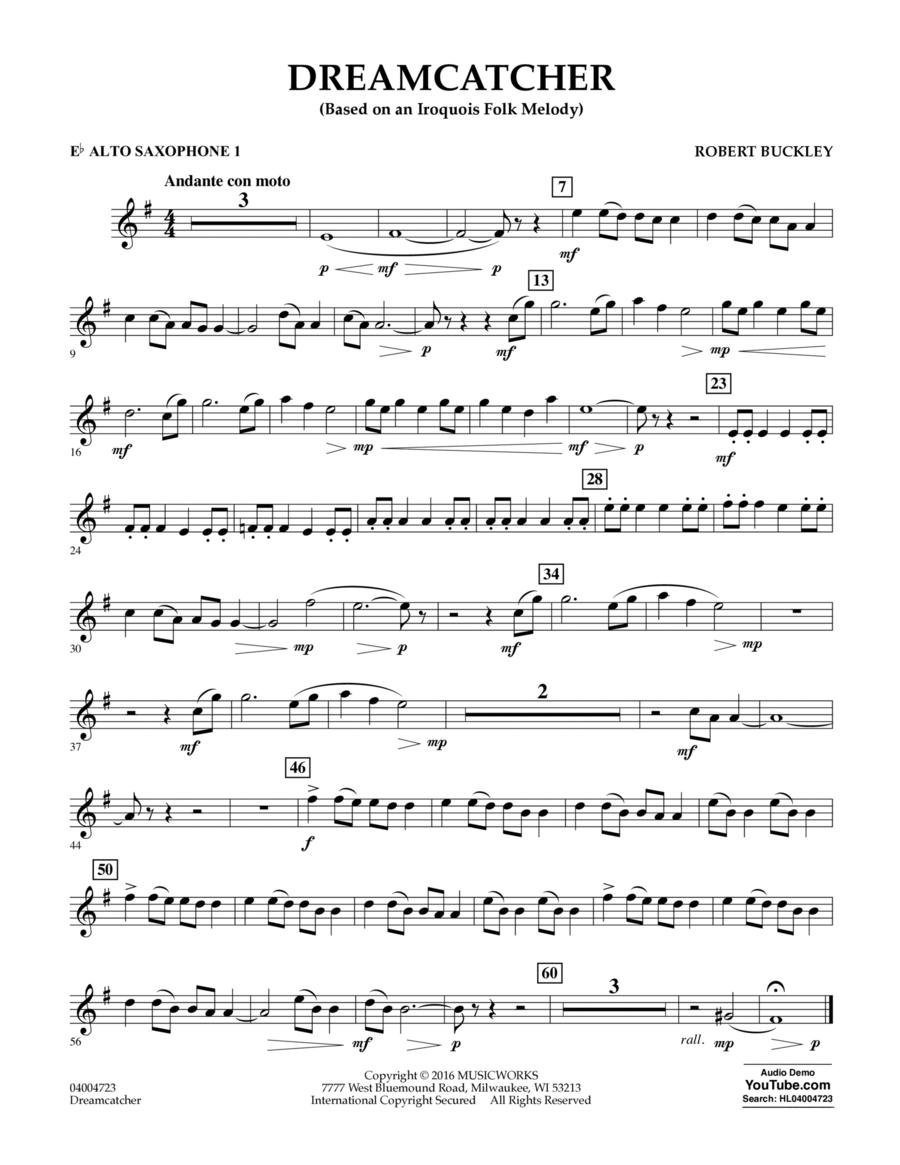 Dreamcatcher - Eb Alto Saxophone 1