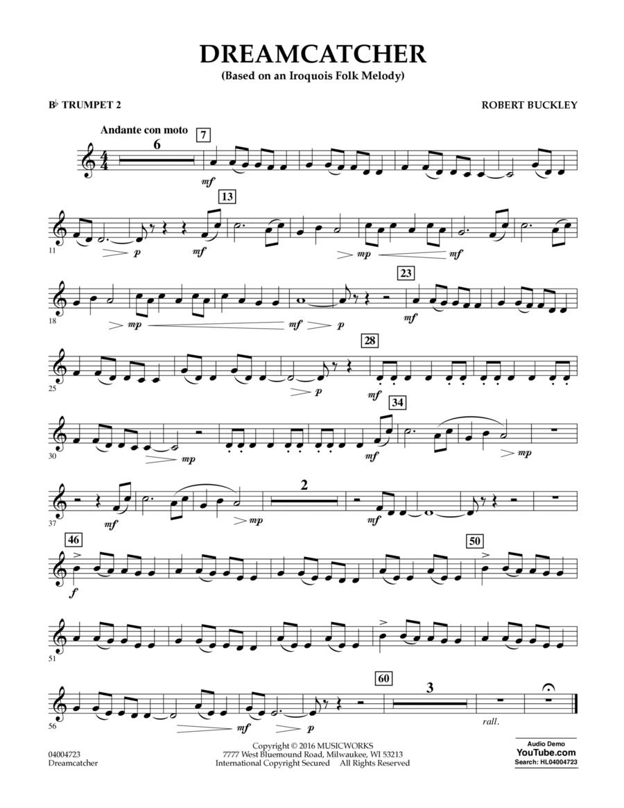 Dreamcatcher - Bb Trumpet 2