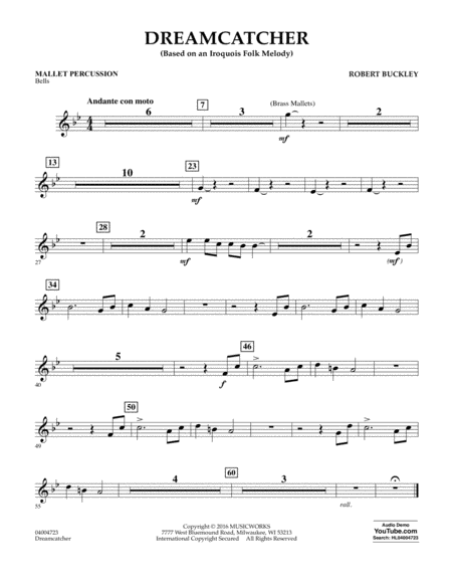 Dreamcatcher - Mallet Percussion