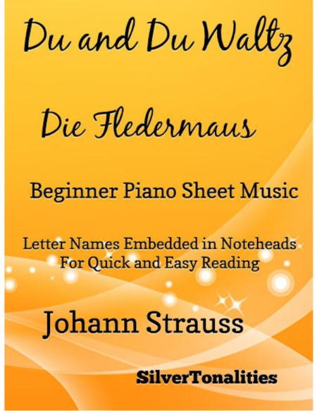 Du and Du Waltz Beginner Piano Sheet Music