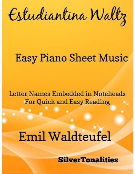 Estudiantina Waltz Easy Piano Sheet Music