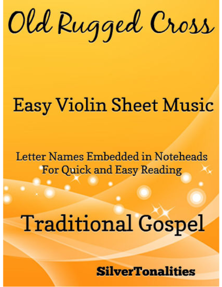 Old Rugged Cross Easy Violin Sheet Music