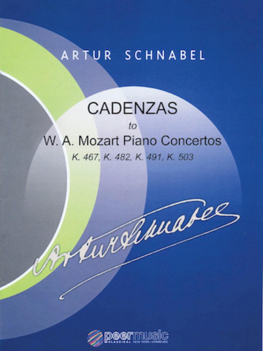 Cadenzas to Mozart Piano Concertos, K. 467, K. 482, K. 491, K. 503