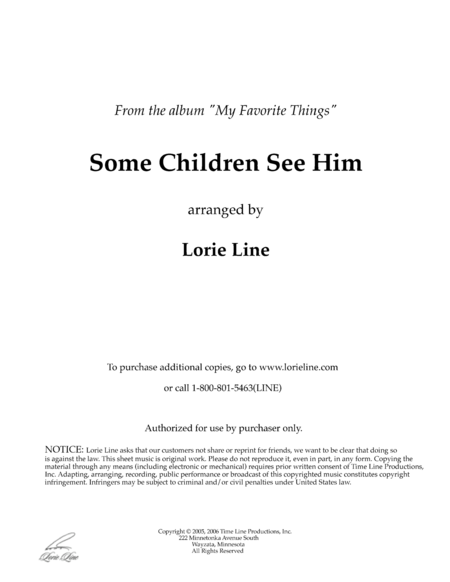 Some Children See Him