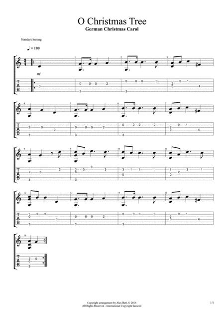 O Christmas Tree (Classical / Acoustic Solo Guitar)
