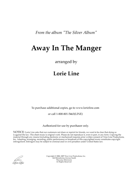 Away In A Manger (from The Silver Album)