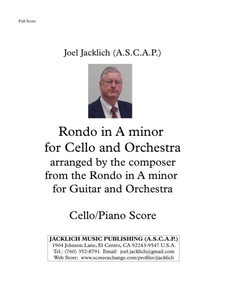 Rondo in A minor for Cello and Orchestra (Cello and Piano Reduction)