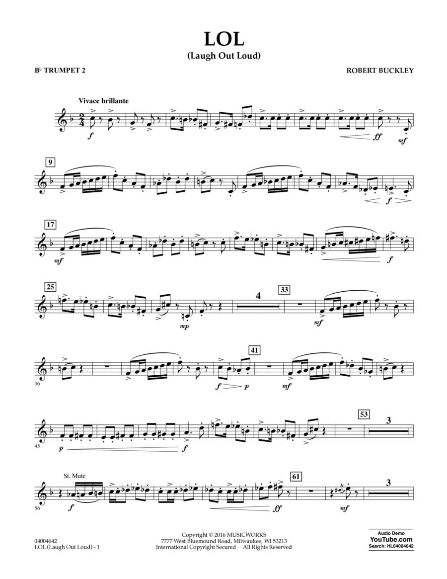 LOL (Laugh Out Loud) - Bb Trumpet 2