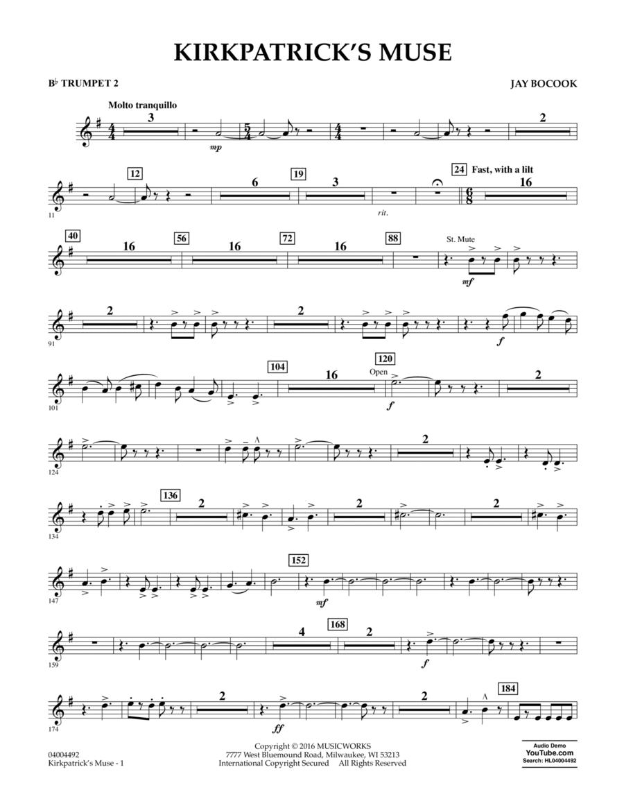 Kirkpatrick's Muse - Bb Trumpet 2