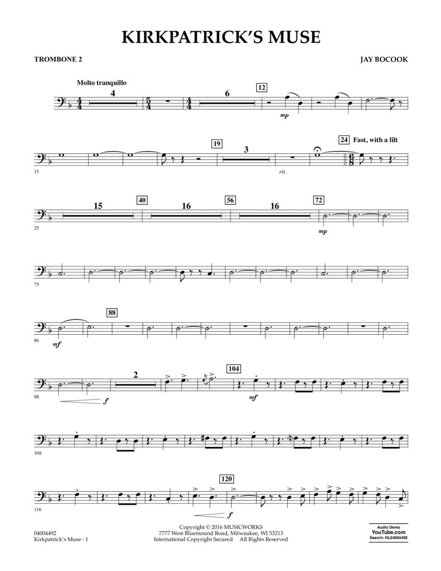 Kirkpatrick's Muse - Trombone 2