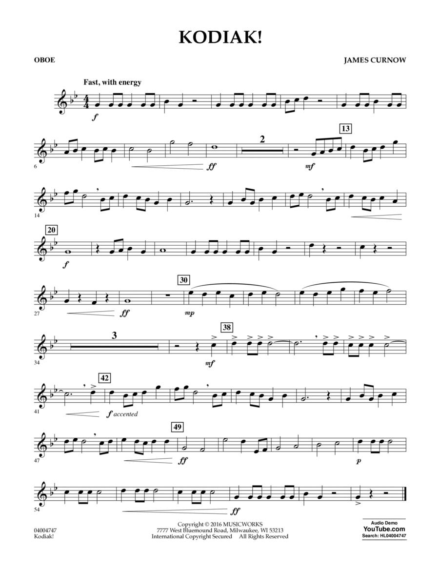 Kodiak! - Oboe