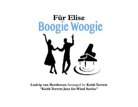 Für Elise Boogie Woogie for Bb Soprano Saxophone & Piano