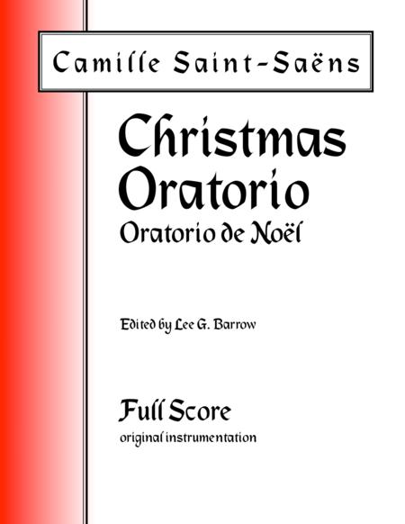 Oratorio de Noël (Christmas Oratorio) - Full Score