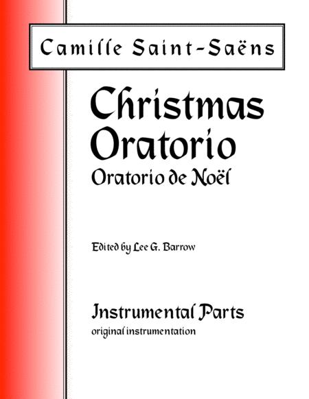 Oratorio de Noël (Christmas Oratorio) - Set of Parts, original instrumentation