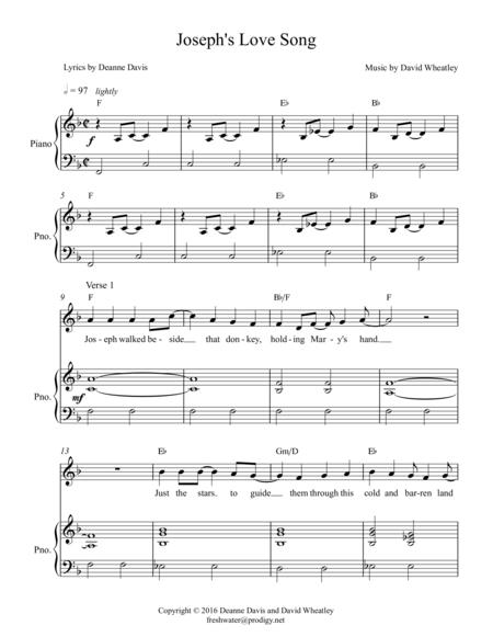 Joseph's Love Song