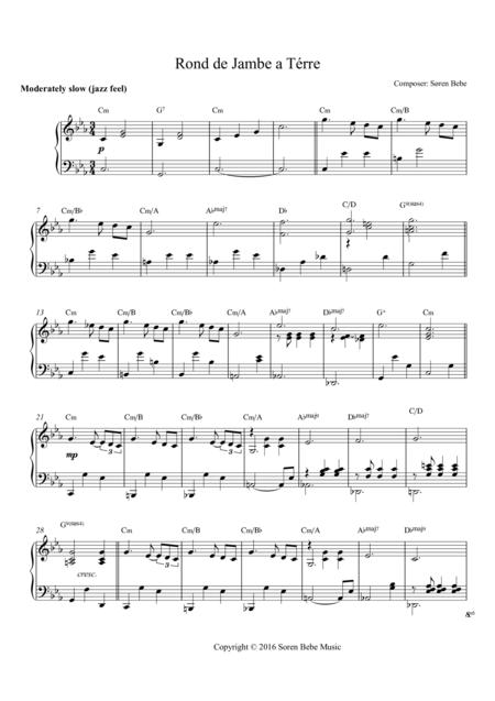 Music for Ballet Class - Rond de Jambe a Térre