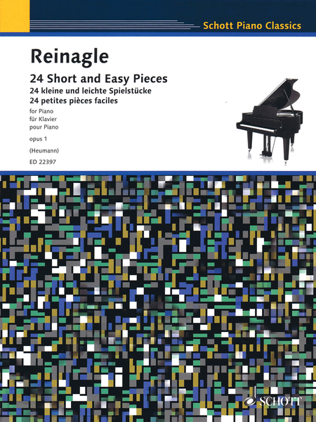 24 Short and Easy Pieces for Piano Op. 1
