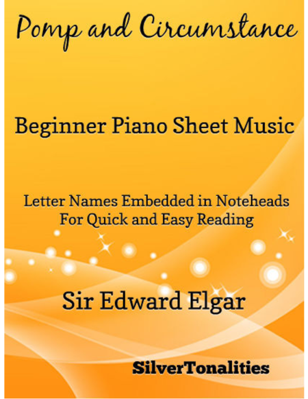 Pomp and Circumstance Beginner Piano Sheet Music