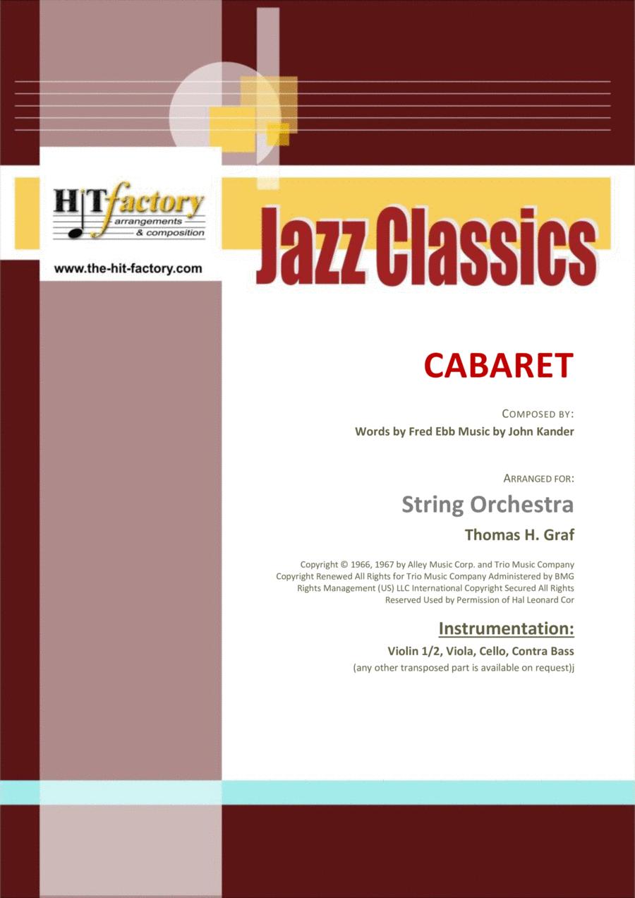 Cabaret - Jazz - Liza Minelli - String Orchestra