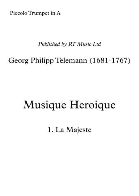 Telemann TWV50:31-33. Heroic Marches
