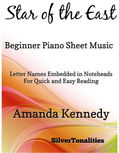 Star of the East Beginner Piano Sheet Music