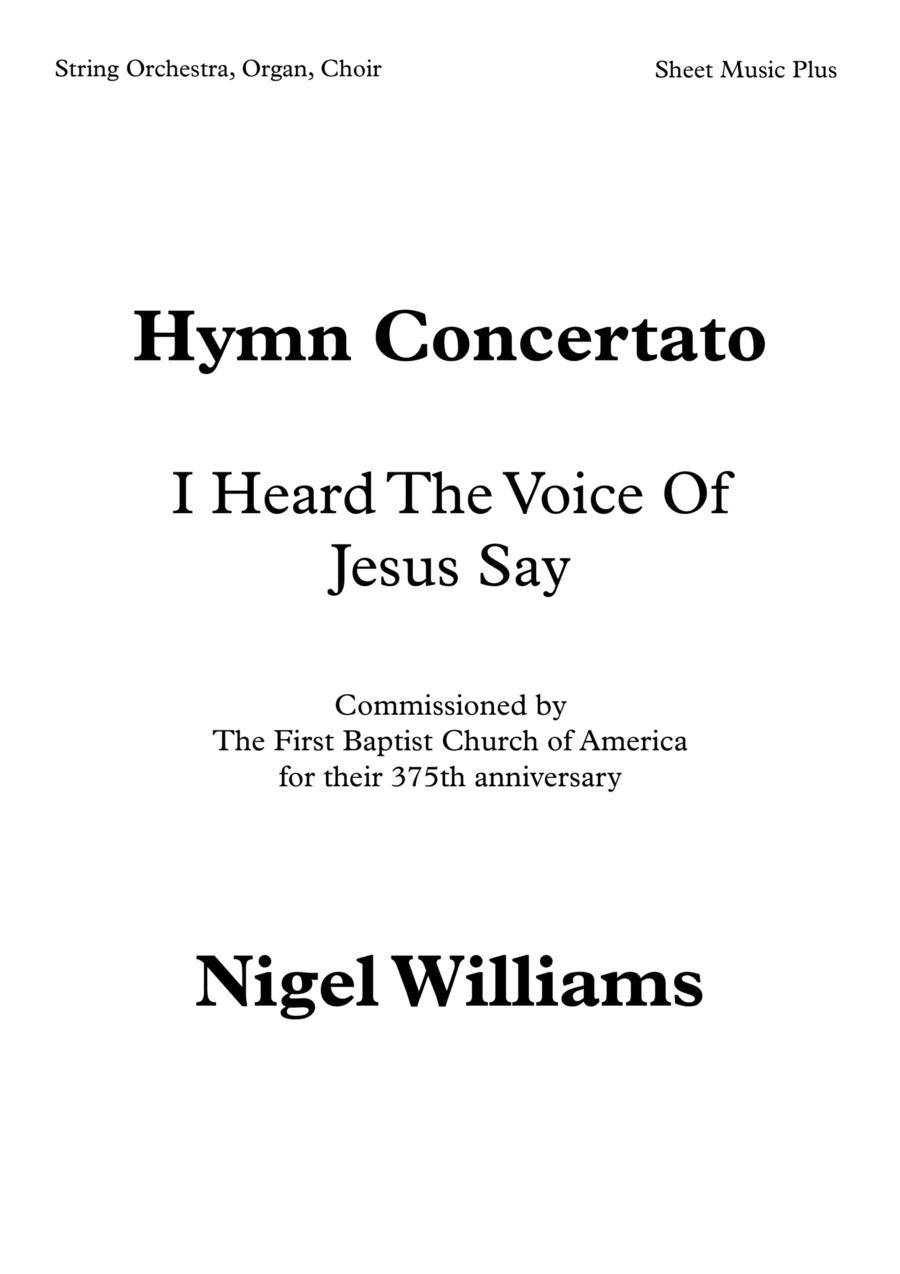 Festive Hymn 'Kingsfold' (I heard the voice of Jesus say)