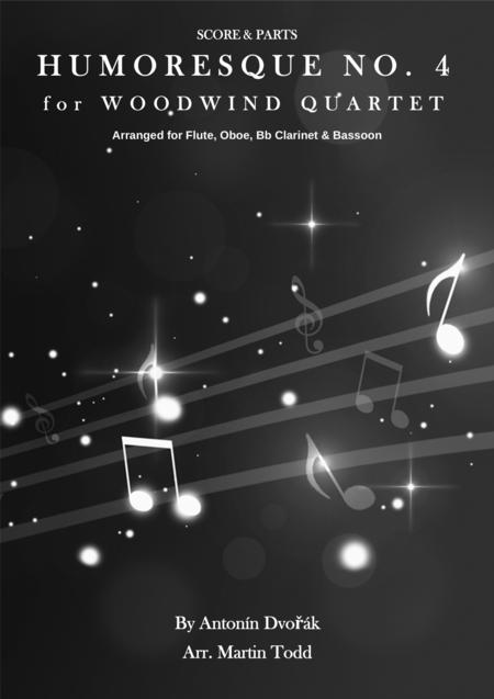Humoresque No. 4 for Woodwind Quartet