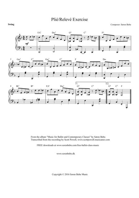 Music for Ballet Class - Plié/Relevé Exercise